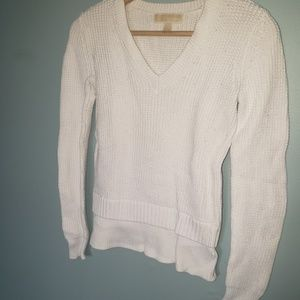 White Knit Michael Kors Sweater